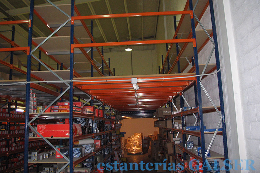 Galser - Almacén de carga manual